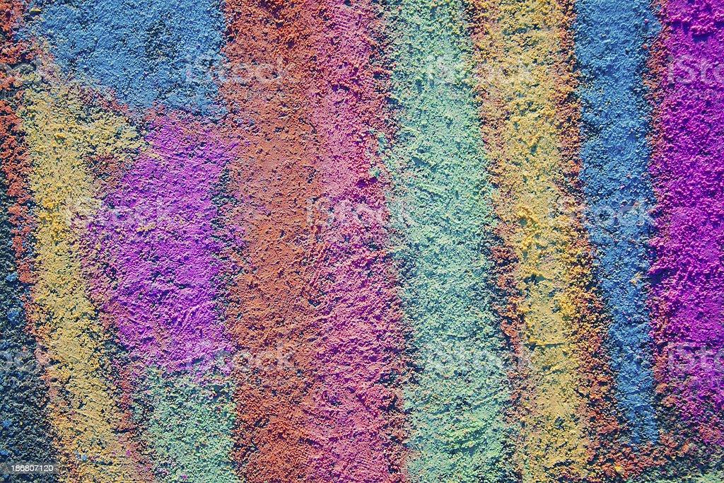 Colorful Sidewalk Chalk - Background Wallpaper royalty-free stock photo