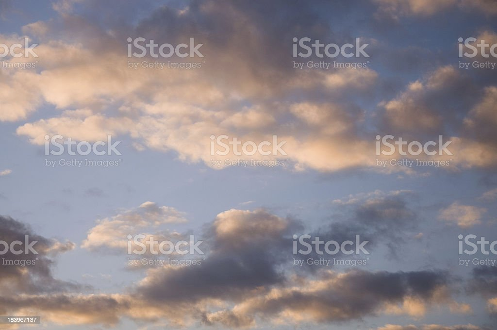 Colorful Skyscape royalty-free stock photo
