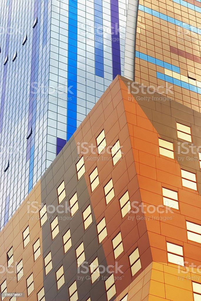 Colorful Skyscraper - New York City royalty-free stock photo