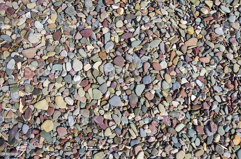 Colorful smooth stone background stock photo