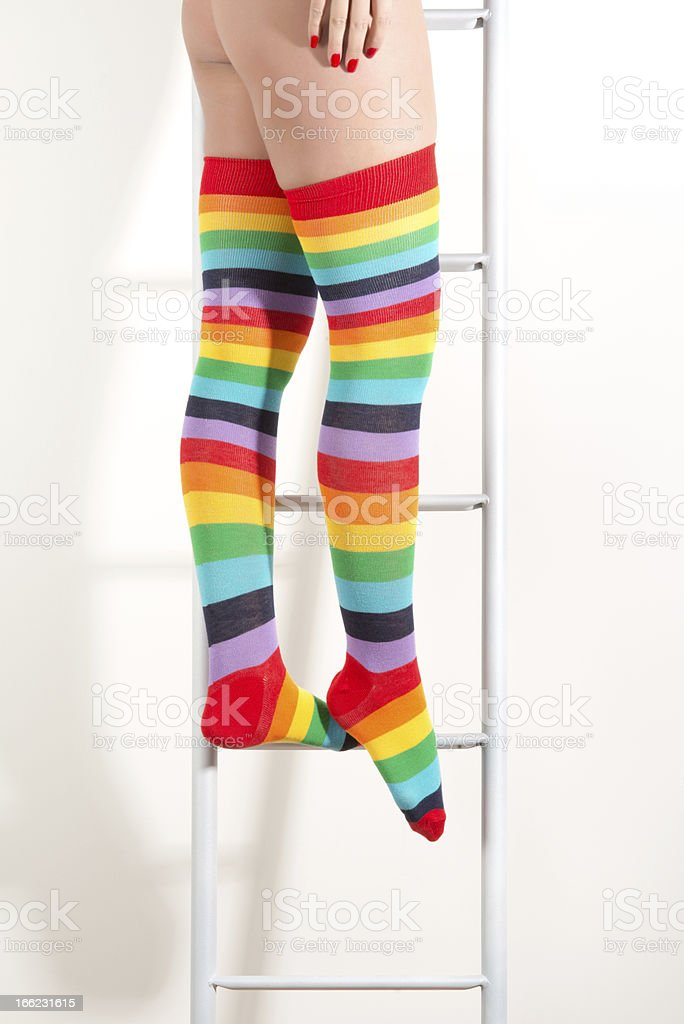 colorful socks royalty-free stock photo