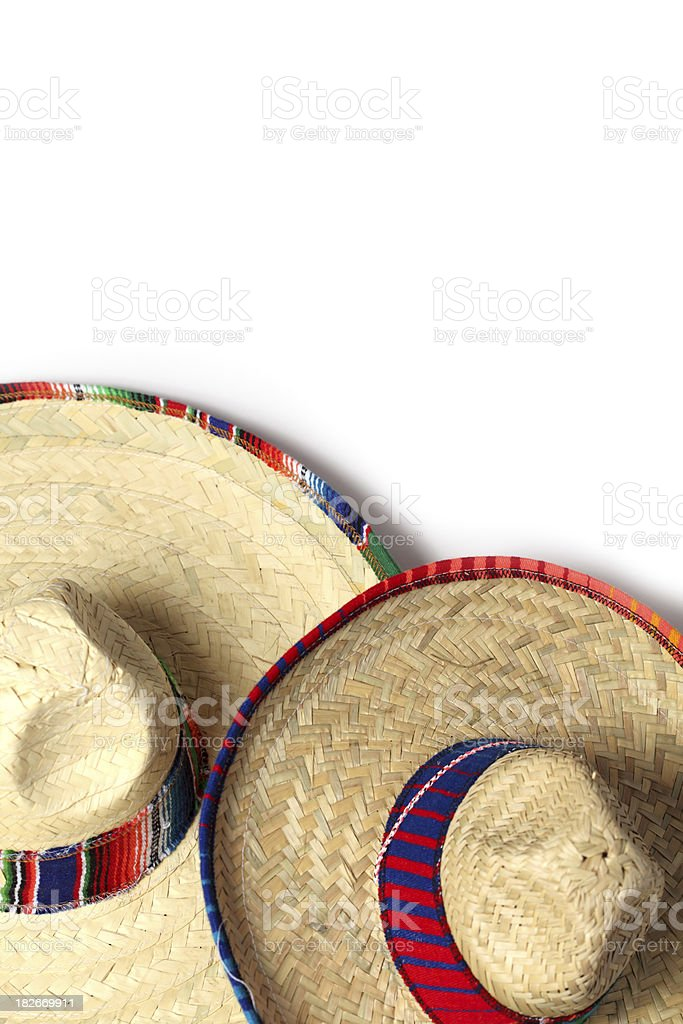 Colorful Sombrero royalty-free stock photo