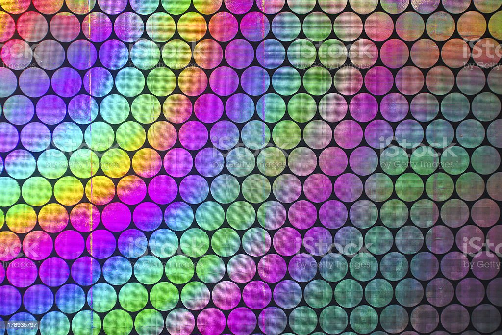 A colorful spectrum of holographic patterns  royalty-free stock photo