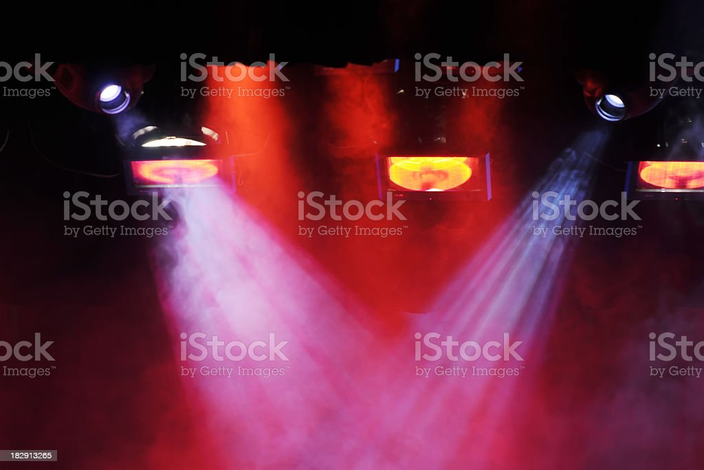 Colorful Stage - Large royalty-free stock photo