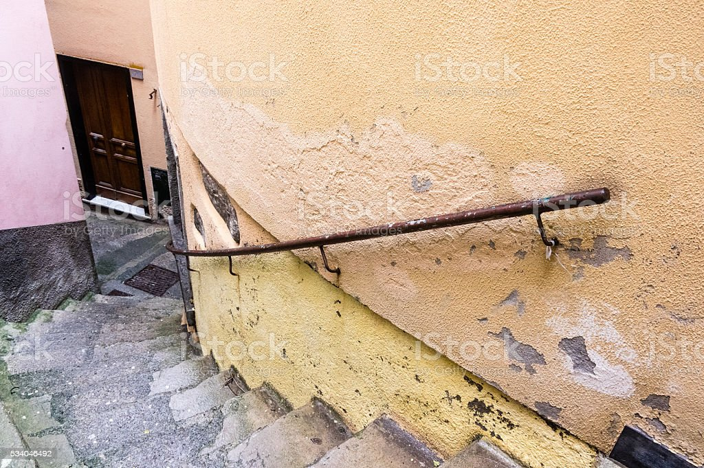 Colorful stair stock photo