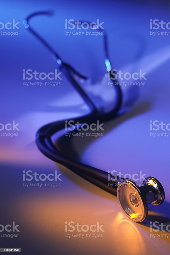 Colorful Stethescope royalty-free stock photo