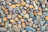 Colorful stones background