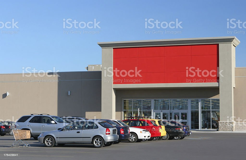 Colorful Store Entrance royalty-free stock photo