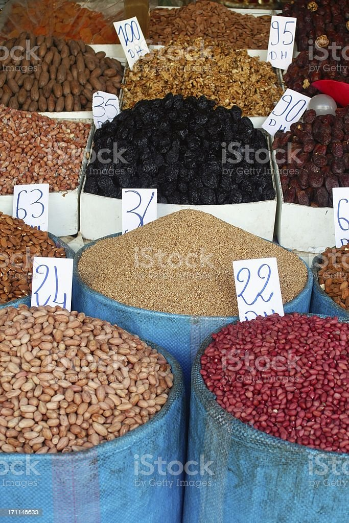 Colorful street market. royalty-free stock photo