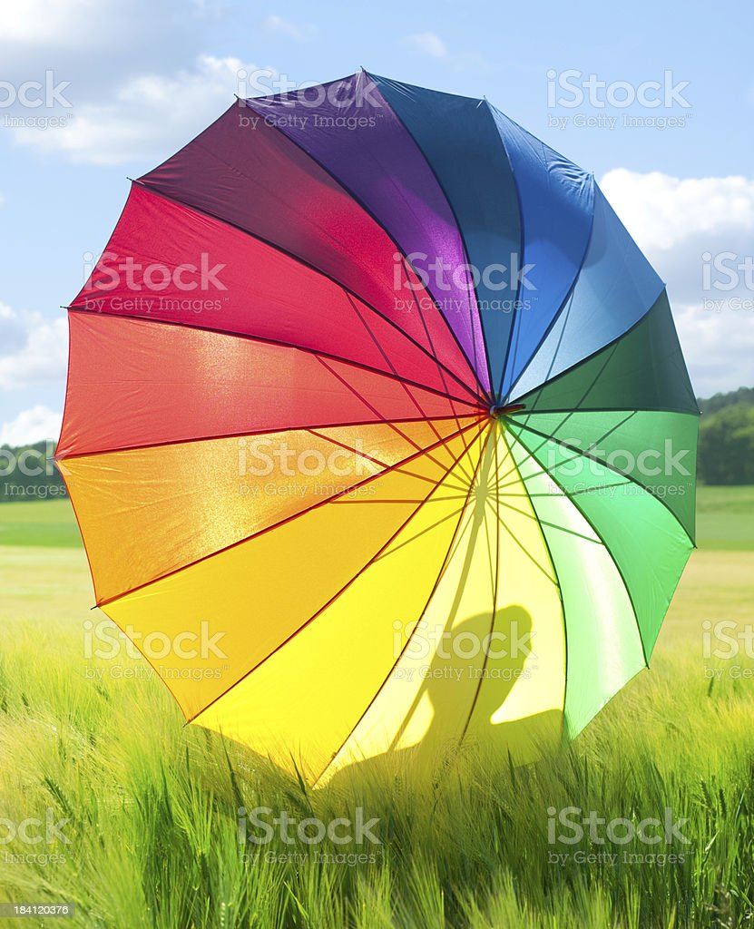 Colorful Sunny Day royalty-free stock photo