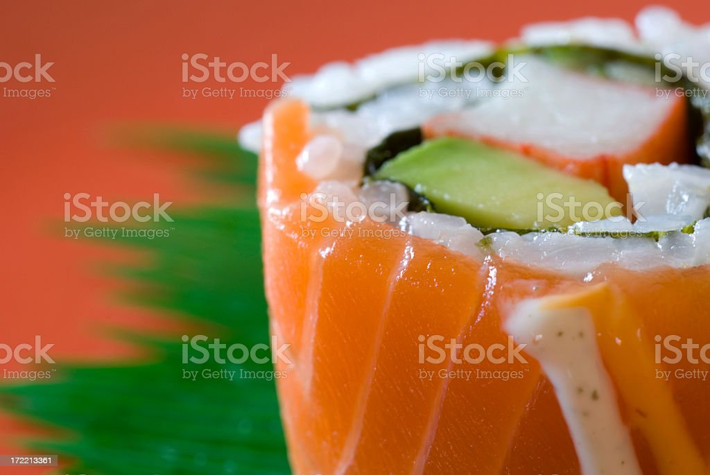 Colorful sushi royalty-free stock photo