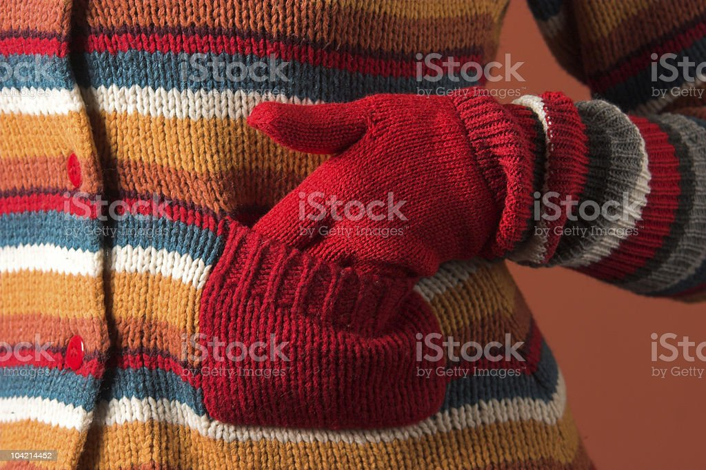colorful sweater royalty-free stock photo