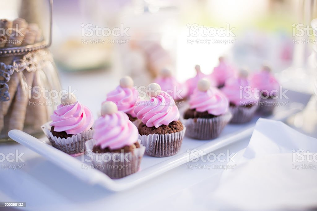 Colorful sweets stock photo