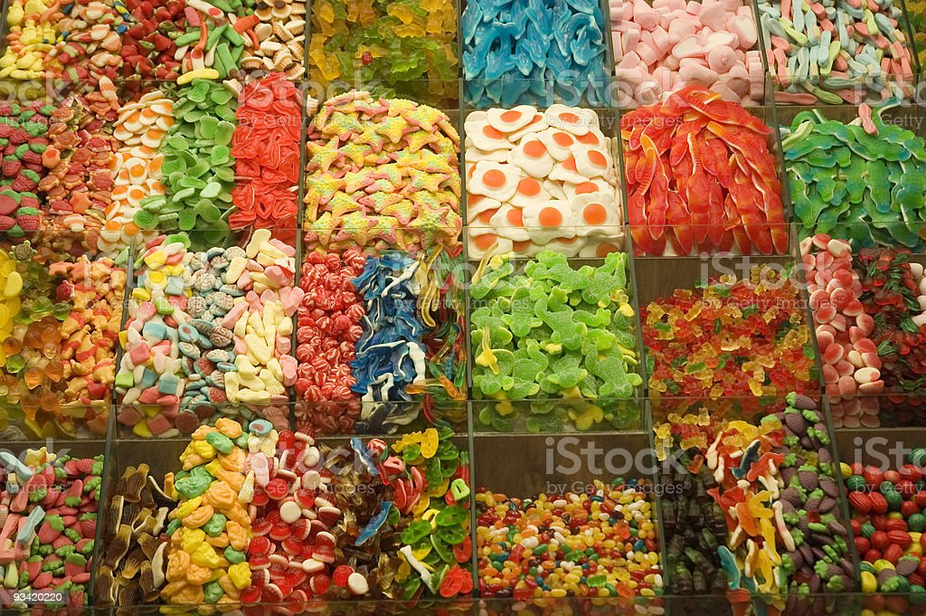 colorful sweets royalty-free stock photo