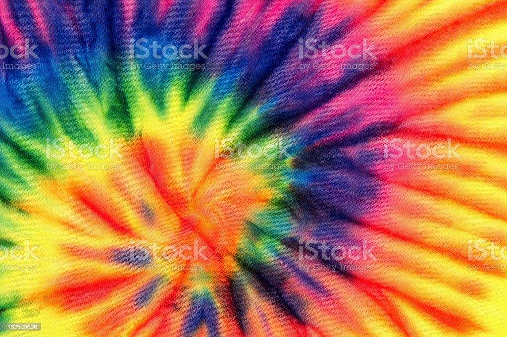Colorful Swirl Tie Dye Background Pattern or Texture stock photo