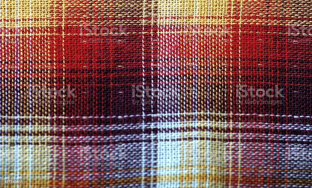 Colorful tablecloth pattern royalty-free stock photo