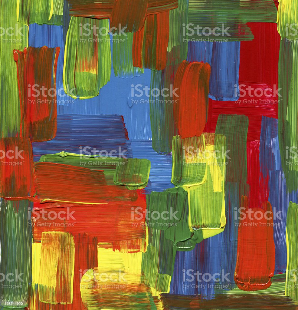 colorful  textured Abstract Paint royalty-free stock photo