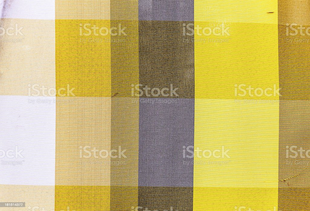 Colorful Thai style loincloth royalty-free stock photo