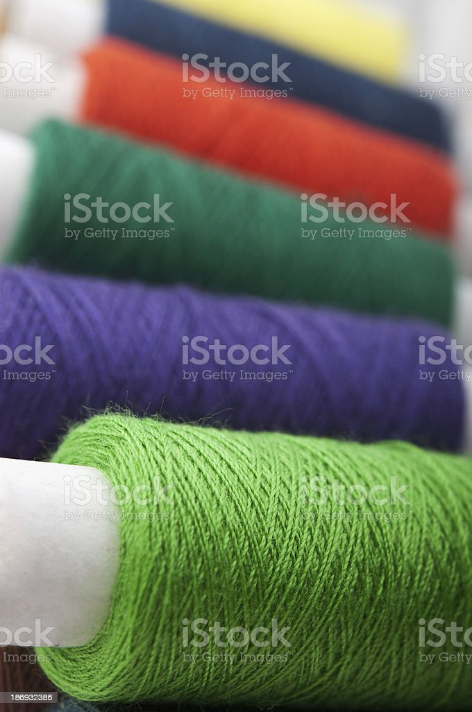 colorful thread background royalty-free stock photo