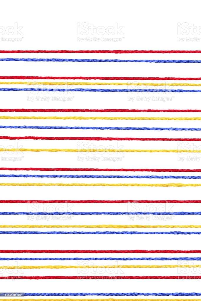 Colorful thread stock photo