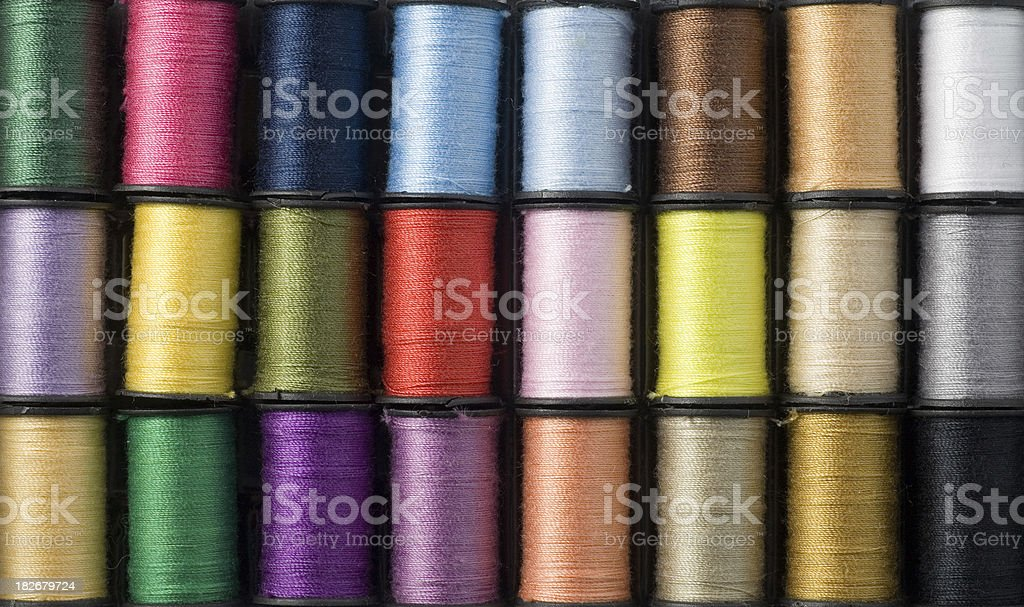 Colorful Threads Background royalty-free stock photo