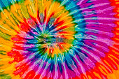 Colorful tie dye swirl texture