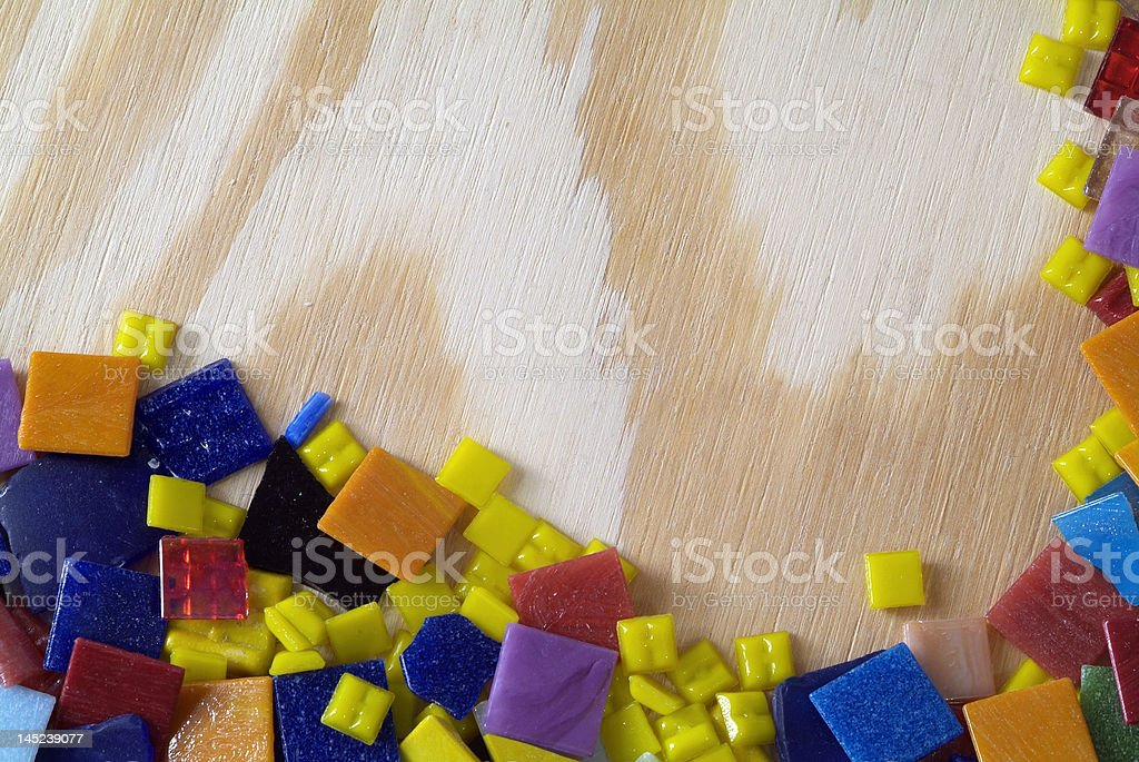 Colorful Tile Background royalty-free stock photo