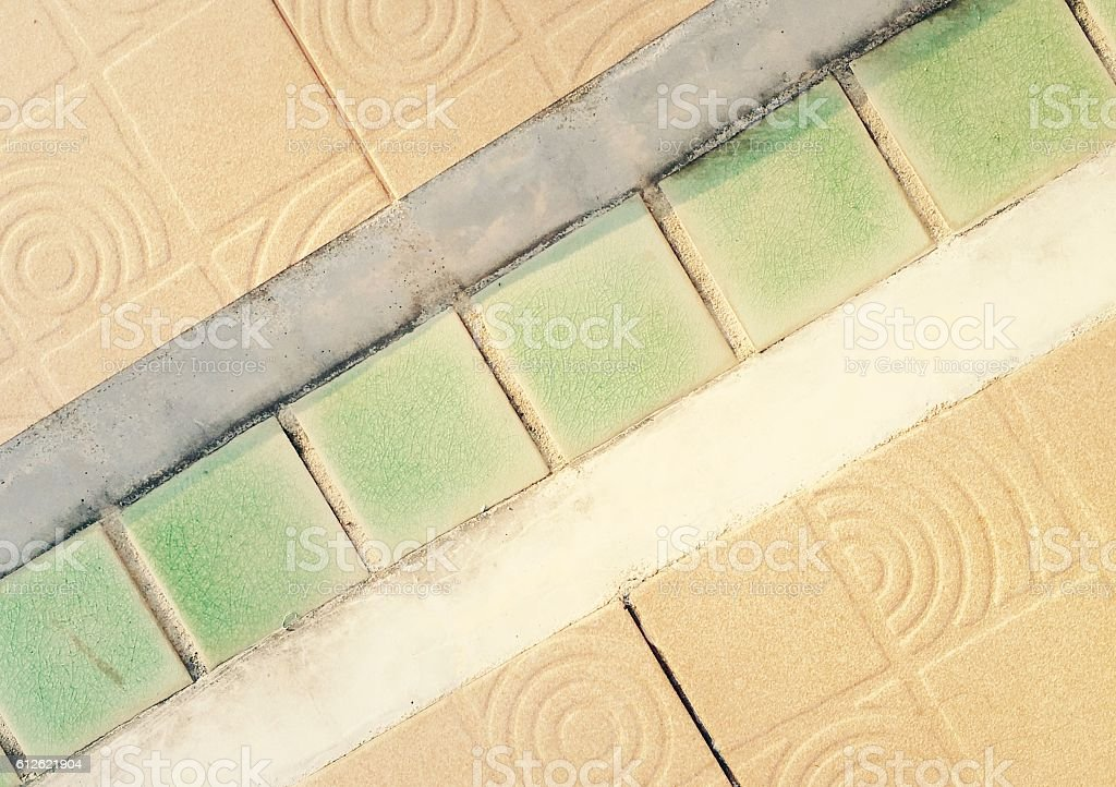 Colorful tile floor background royalty-free stock photo
