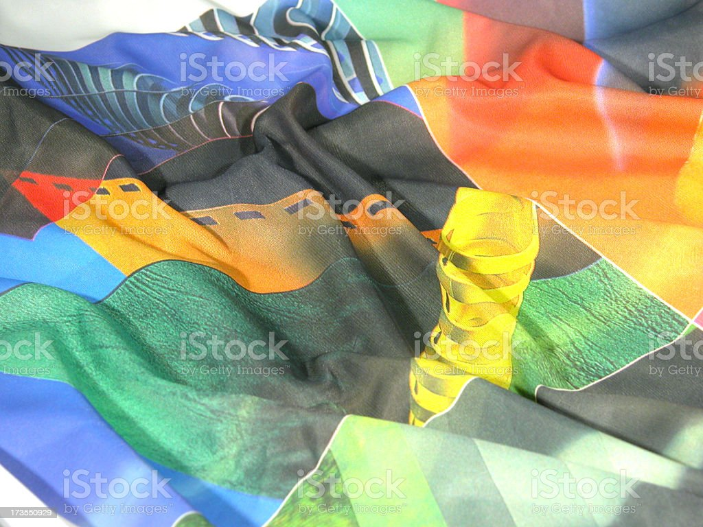 Colorful tissue royalty-free stock photo