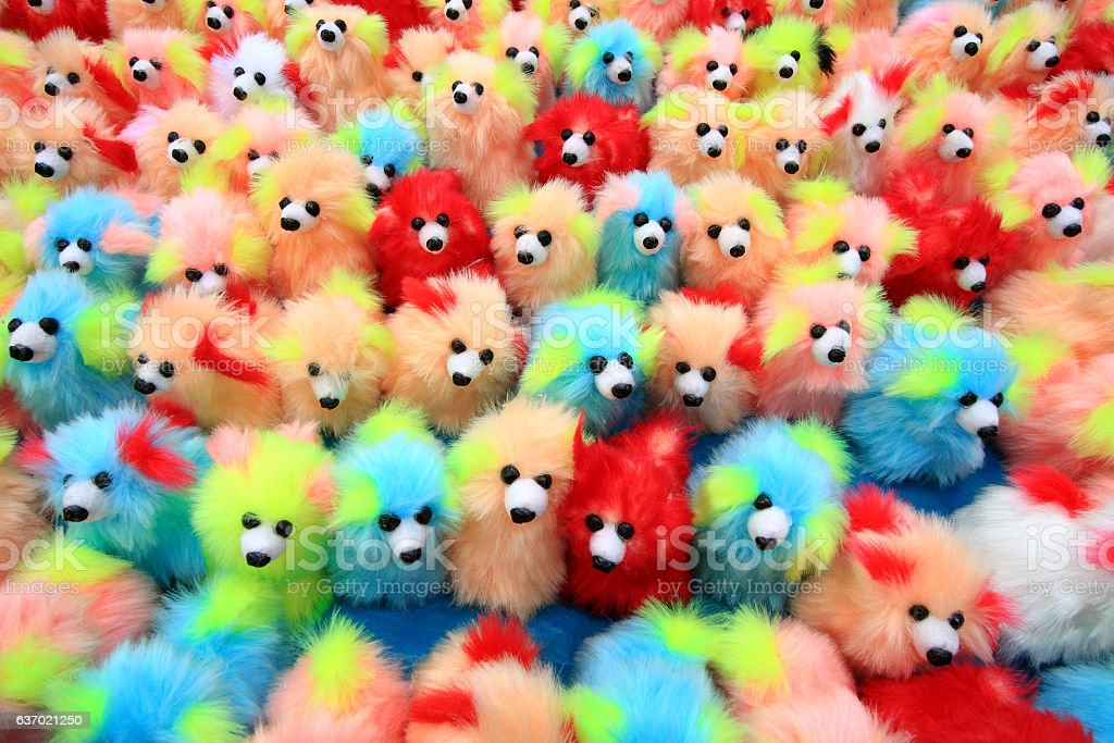 Colorful  Toys Collections stock photo