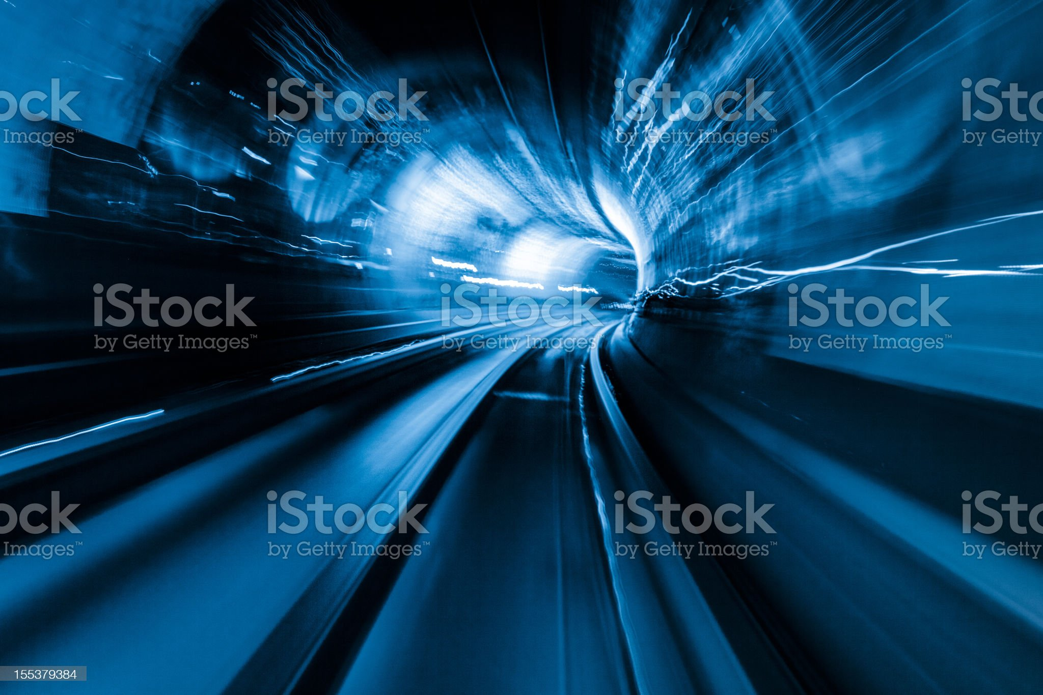 colorful tunnel royalty-free stock photo