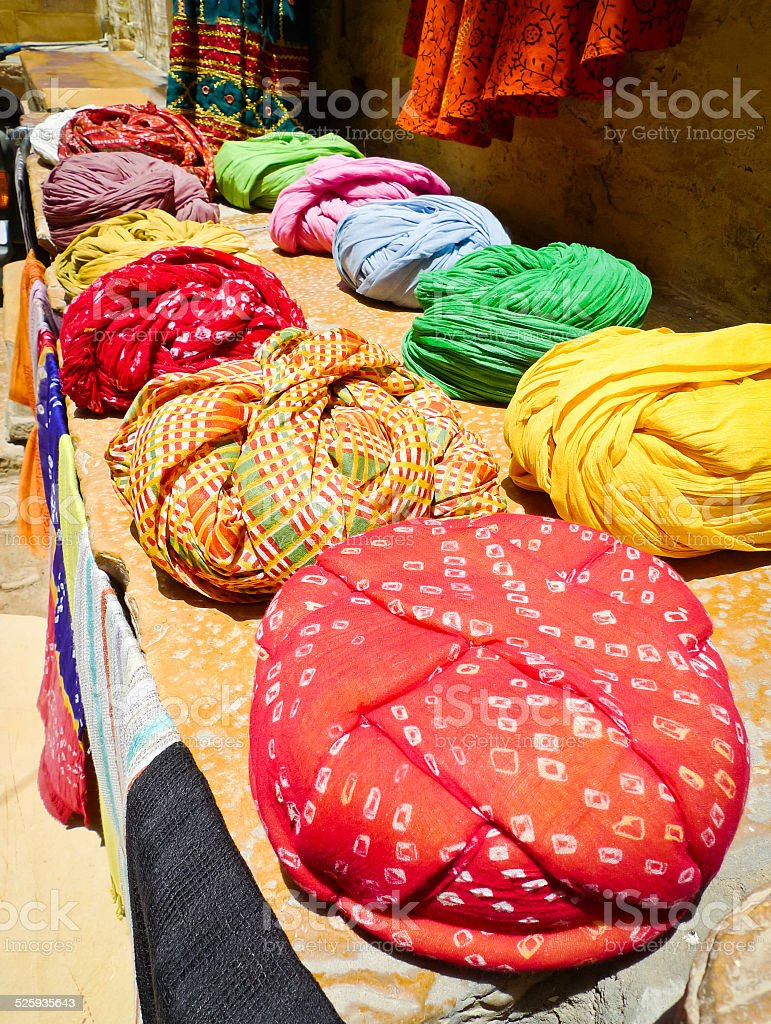 Colorful Turbans stock photo