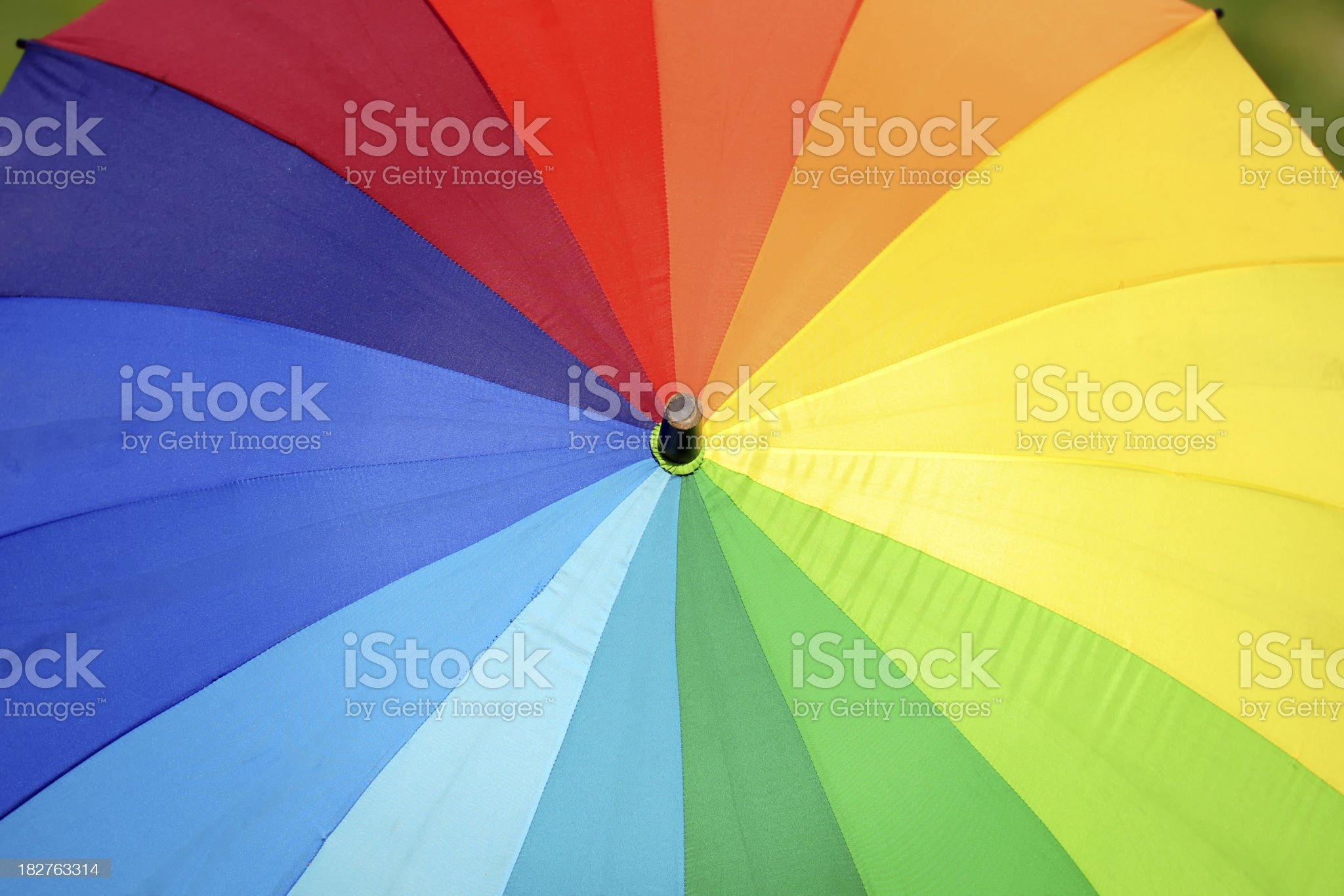 Colorful Umbrella - XLarge royalty-free stock photo