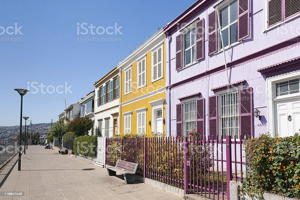 Colorful Valparaiso stock photo