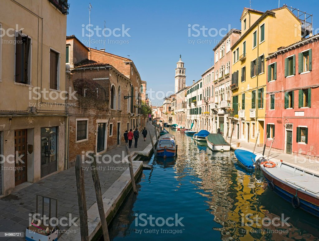 Colorful Venice Italy royalty-free stock photo