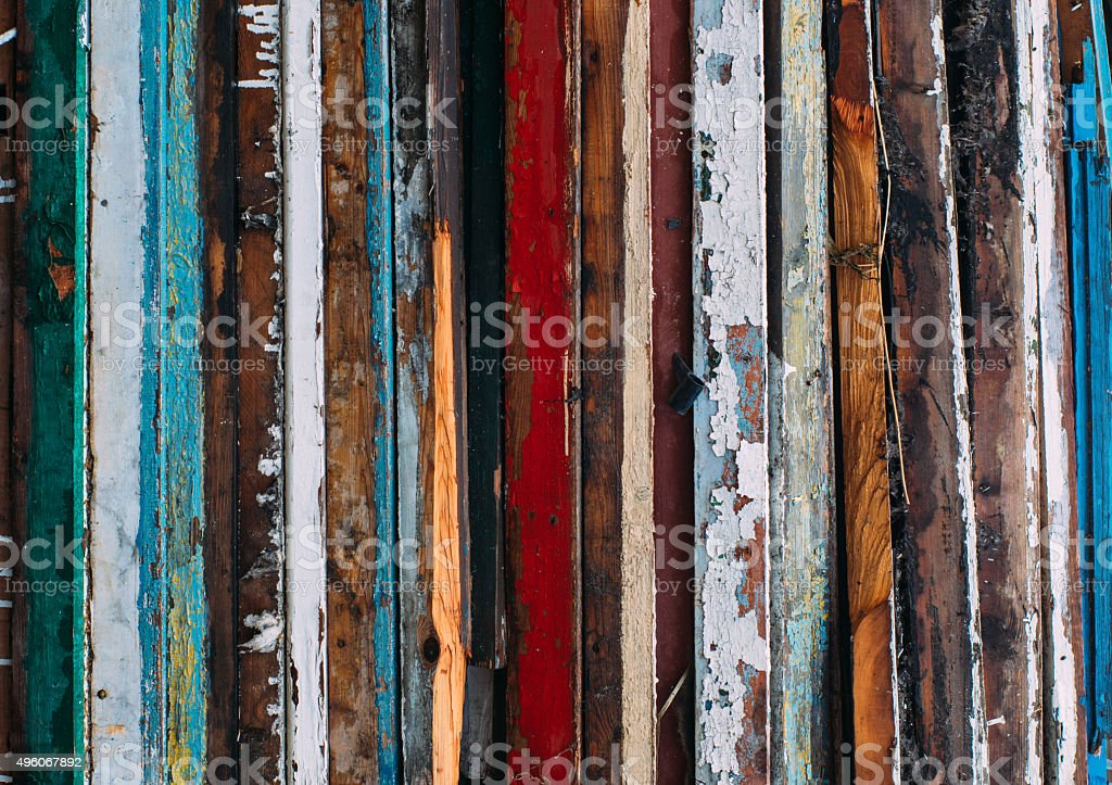 Colorful vertical lines stock photo