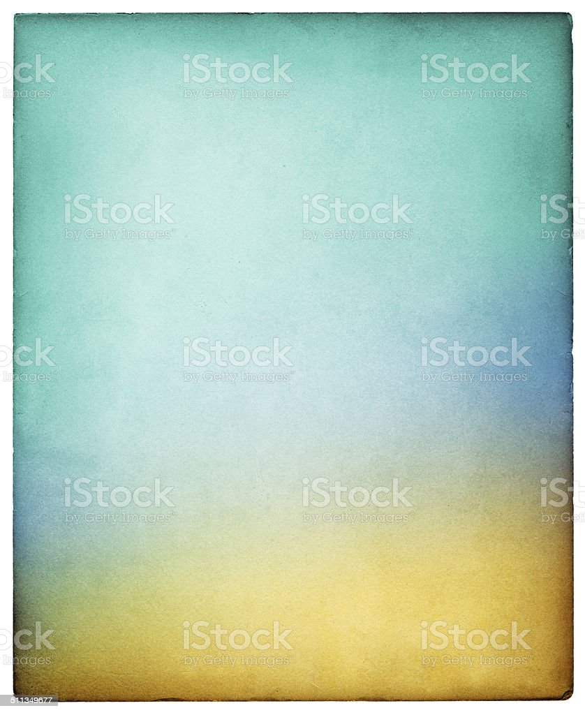 Colorful Vintage Paper stock photo