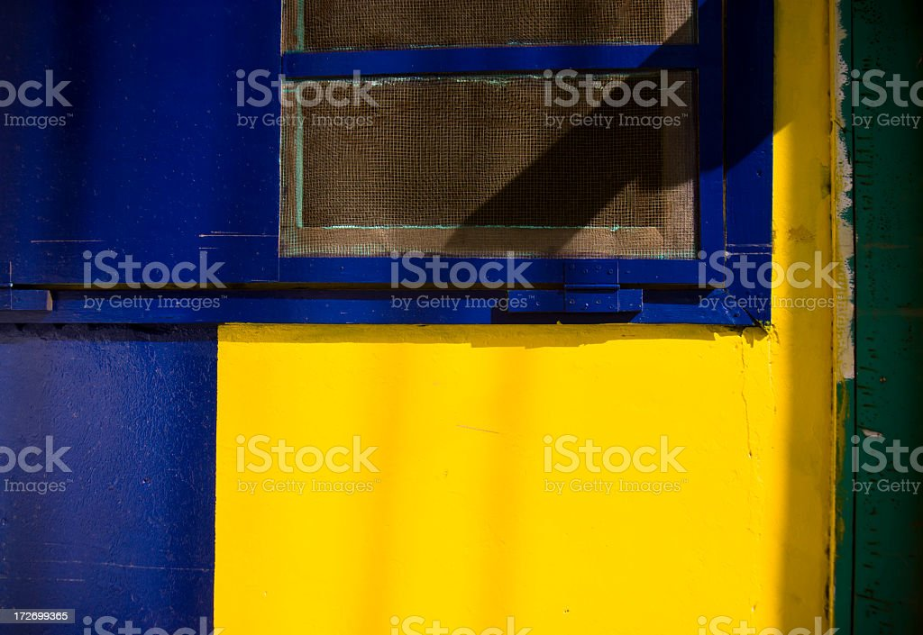 Colorful Wall stock photo