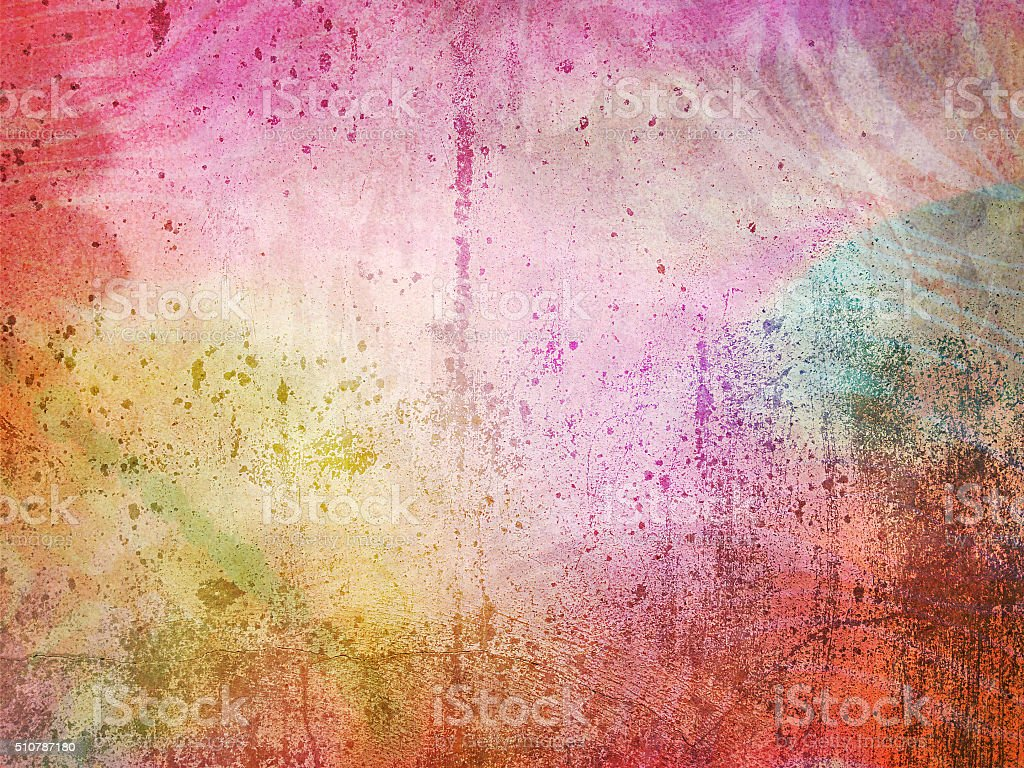 Colorful wall texture, grunge vintage background stock photo
