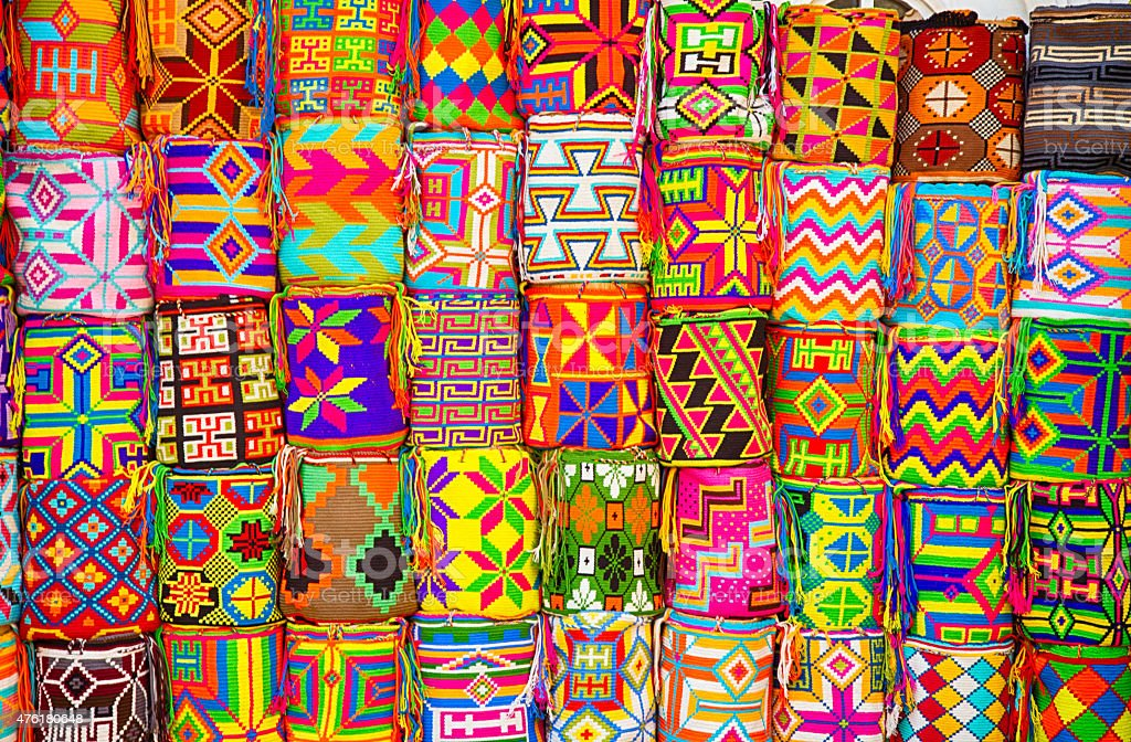 Colorful Wares stock photo