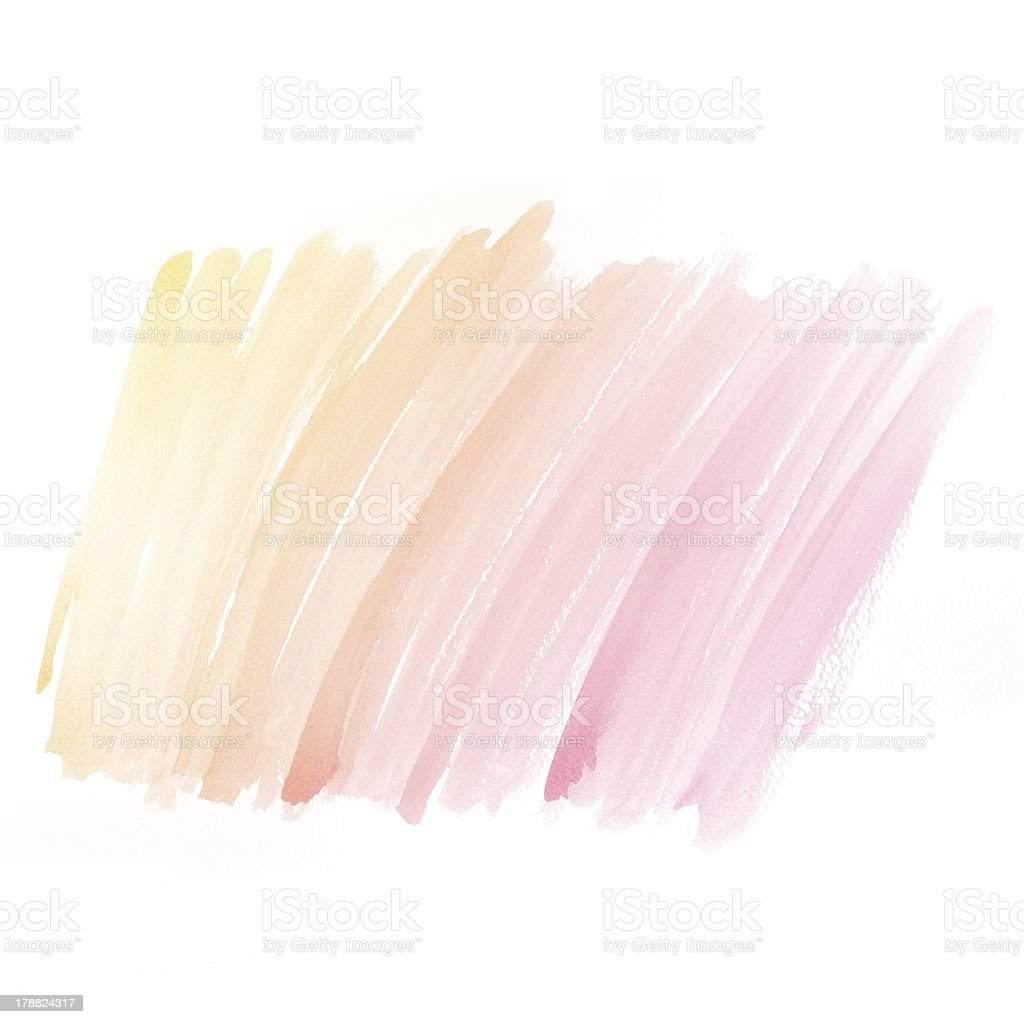 Colorful water color painting background stock photo