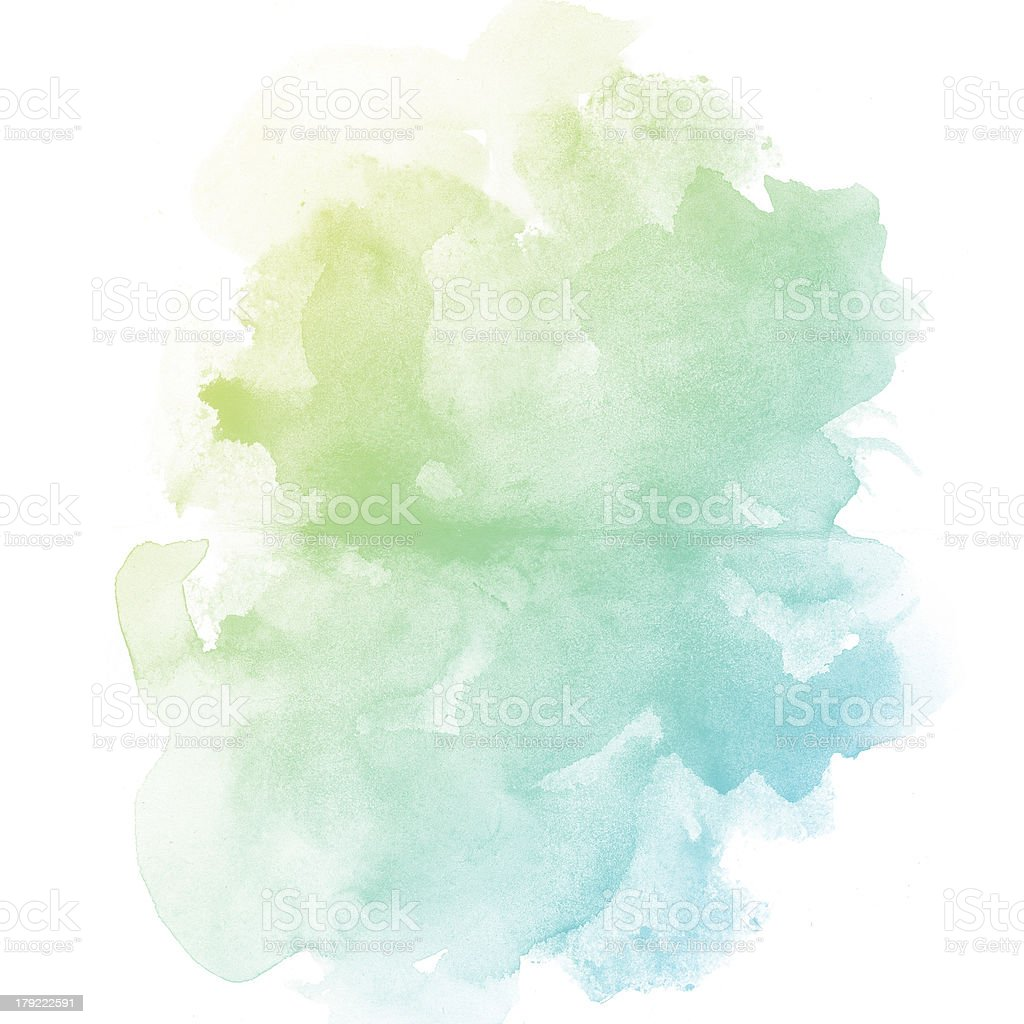 Colorful water color painting background vector art illustration