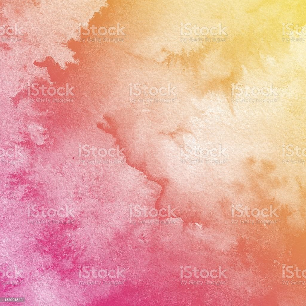 A colorful watercolor background painting royalty-free stock photo