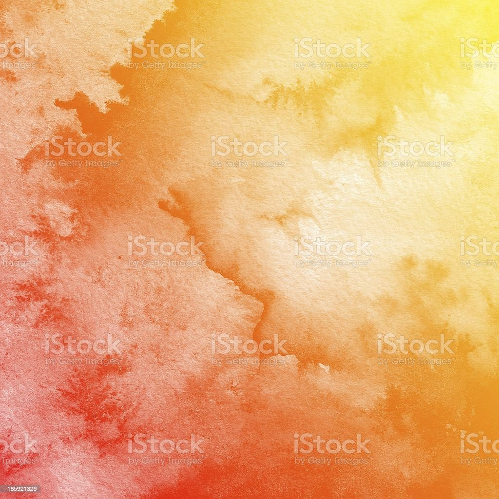 Colorful watercolor painting background royalty-free stock photo
