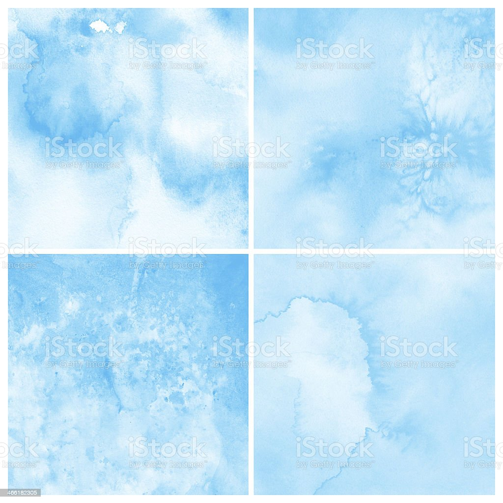 Colorful watercolor painting background royalty-free stock vector art