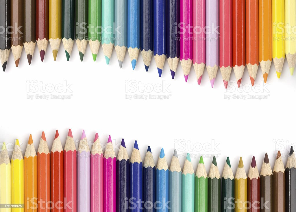 Colorful Wave stock photo