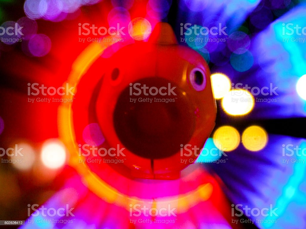Colorful whirl stock photo