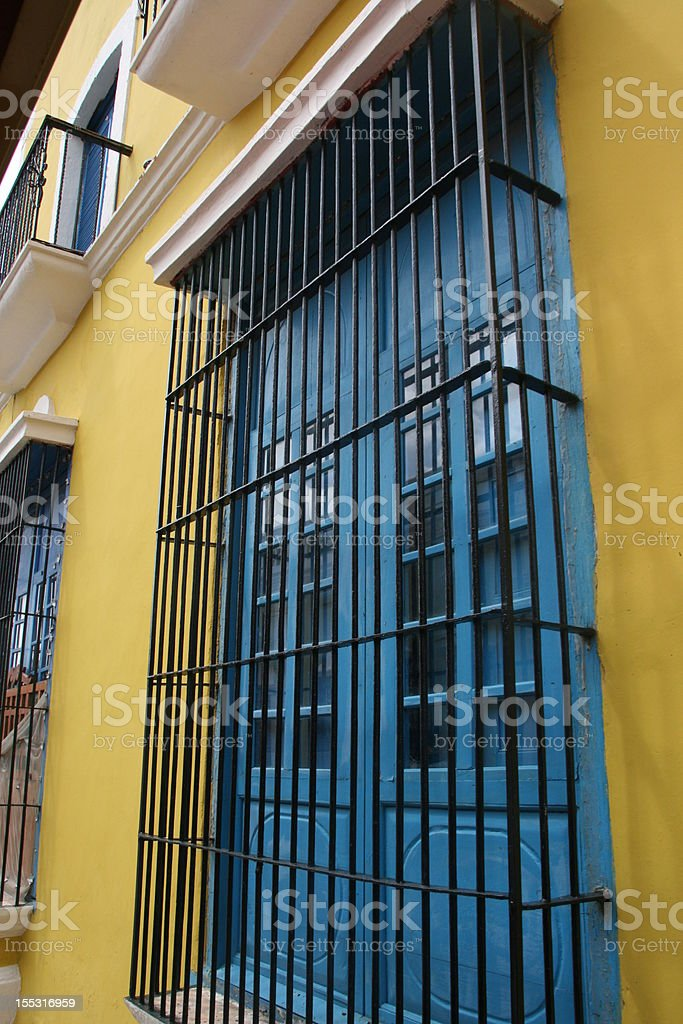 Colorful window royalty-free stock photo