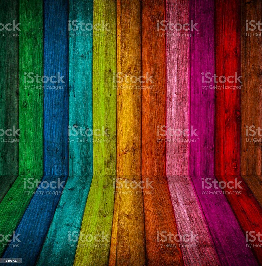 colorful wood Background stock photo