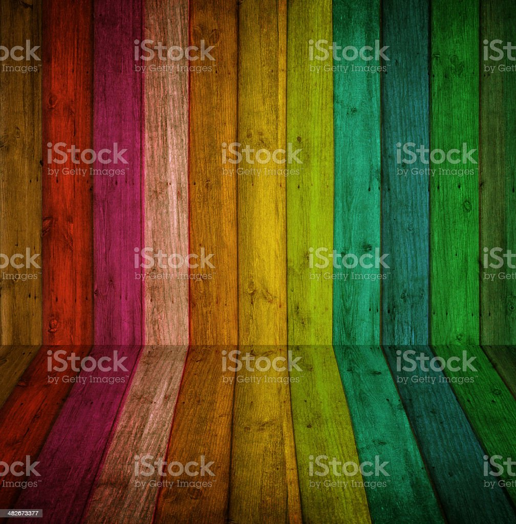 colorful wood Background stock photo